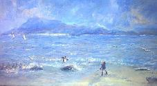 Western shore
