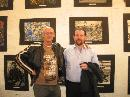 Dr.Mick Broderick and Thomas Delohery at the official opening of