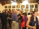 Some of the crowd at Thomas Delohery's first Exhibition in Australia.
