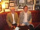 Eamonn and Ken Harris in front of the
