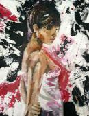 pritty girl pink black no.1