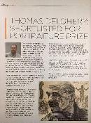 Australian Press about Artist Thomas Delohery