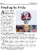 Press for Frida Kahlo Exhibition