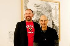 Artists Thomas Delohery and Stelarc