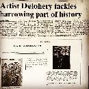 Irish Press about Artist Thomas Delohery�s Holocaust Art Exhibition