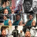 Painting Actor Julian Maroun