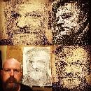 Portraits of Actor Jared Harris by Artist Thomas Delohery